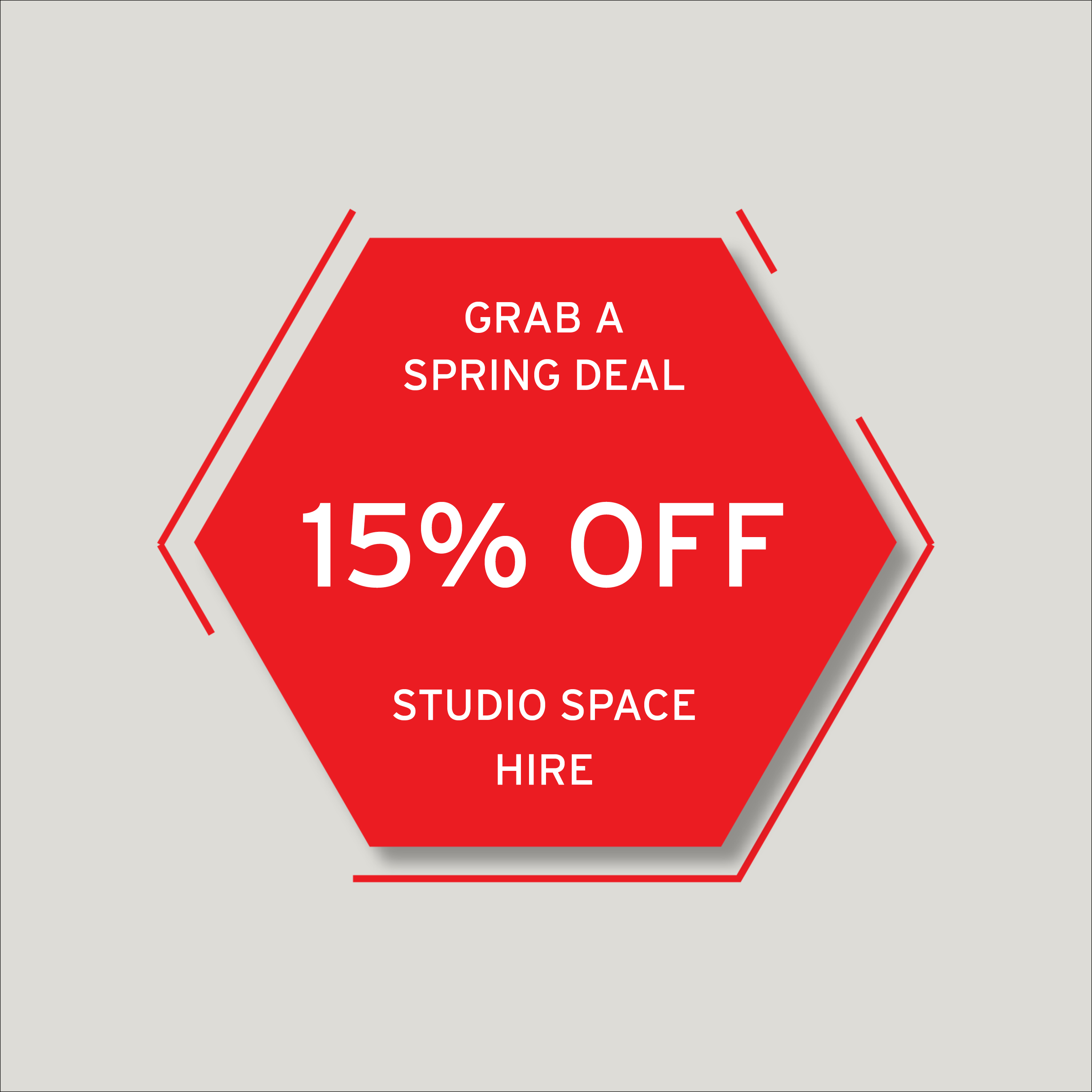 Spring deal - 15% off at HAVEN! 1
